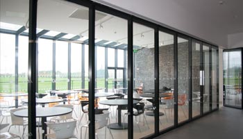 Double Glazed Sliding Partitions